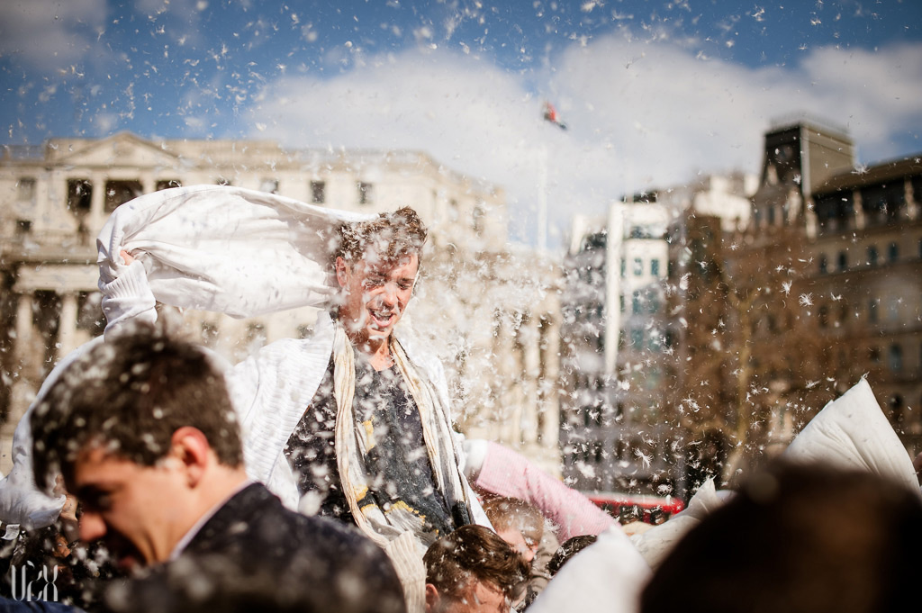 Pillow Fight Day 2013 London 04