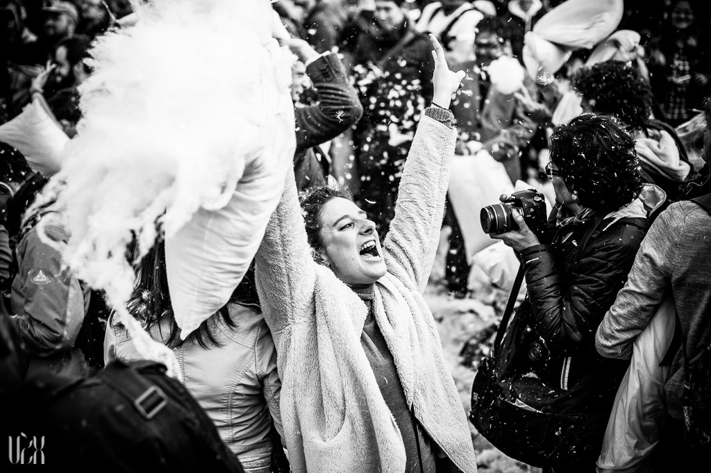 Pillow Fight Day 2013 London 06