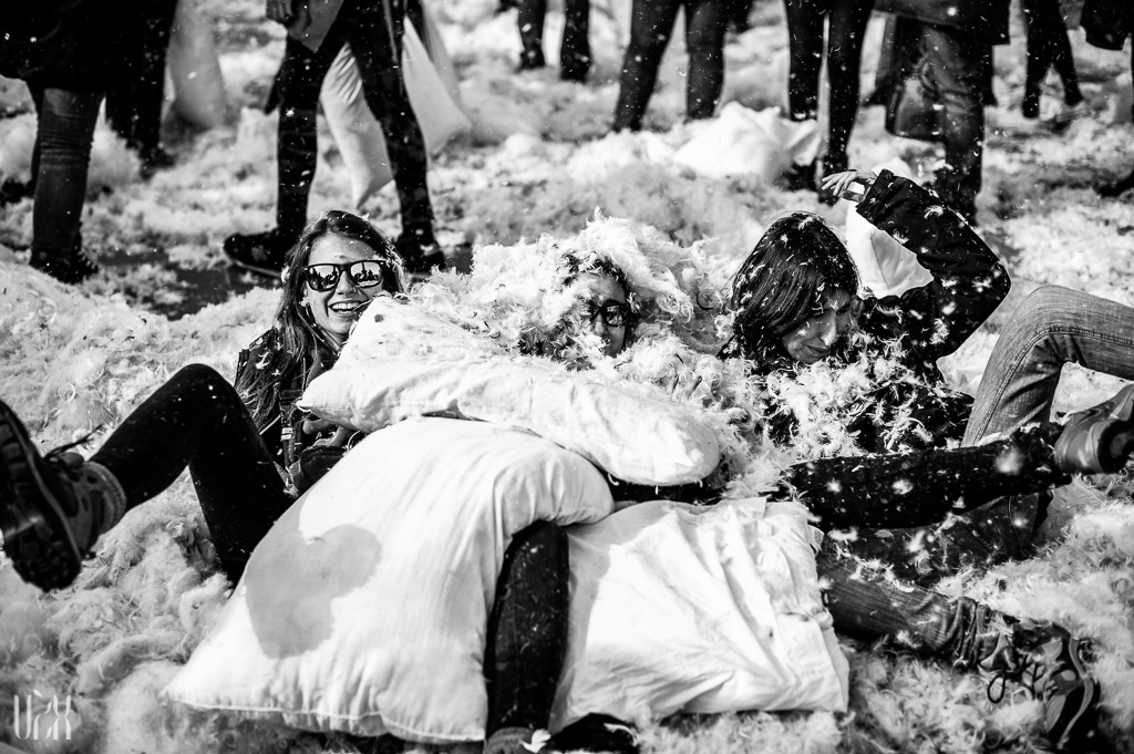 Pillow Fight Day 2013 London 11