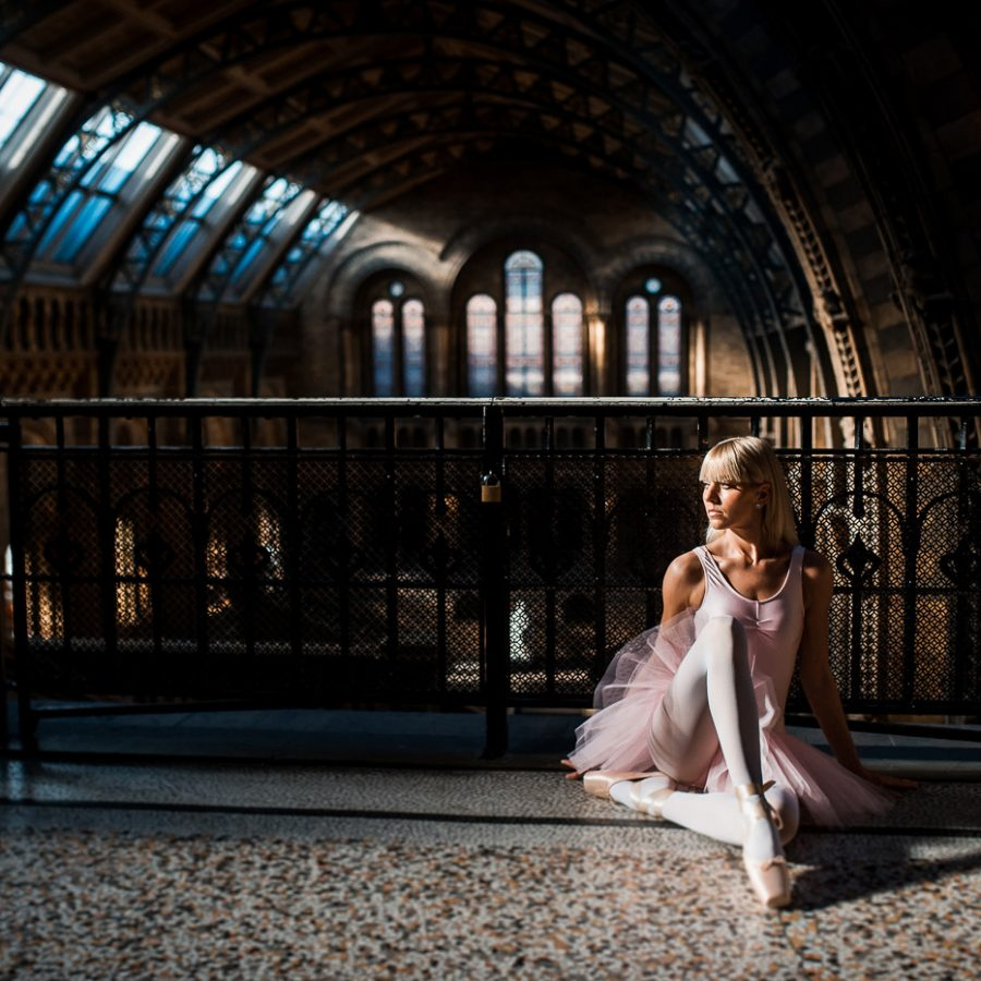 Photoshoot in London: Stillness in Time