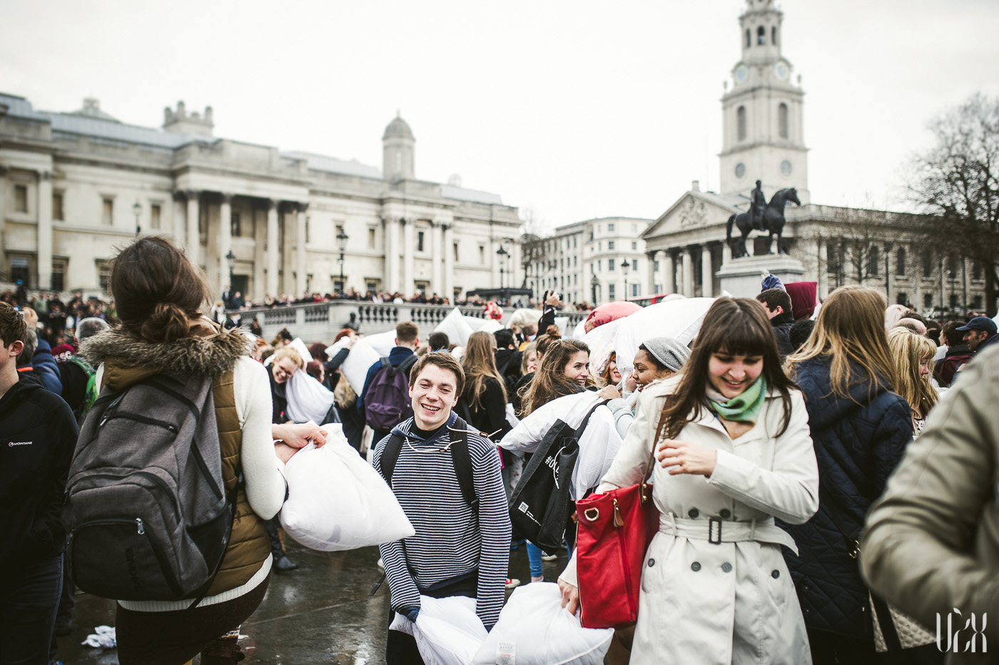 International Pillow Fight Day In London 2015 Street Photography Pagalviu Musis 06