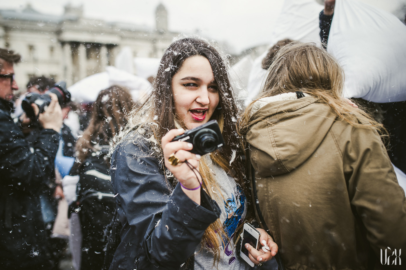 International Pillow Fight Day In London 2015 Street Photography Pagalviu Musis 11