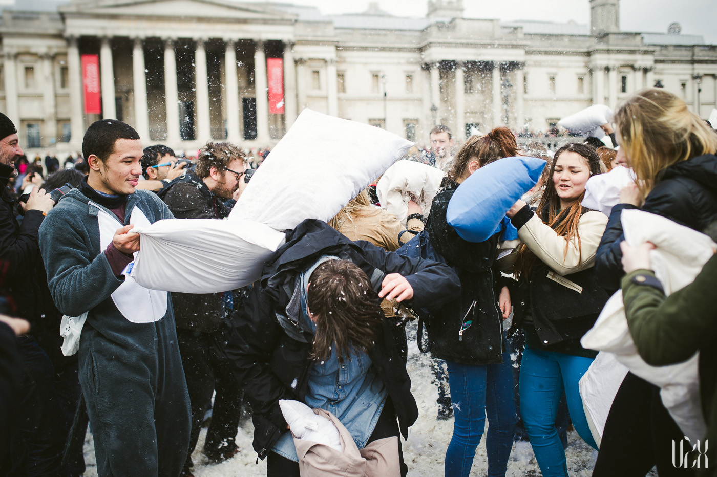 International Pillow Fight Day In London 2015 Street Photography Pagalviu Musis 13