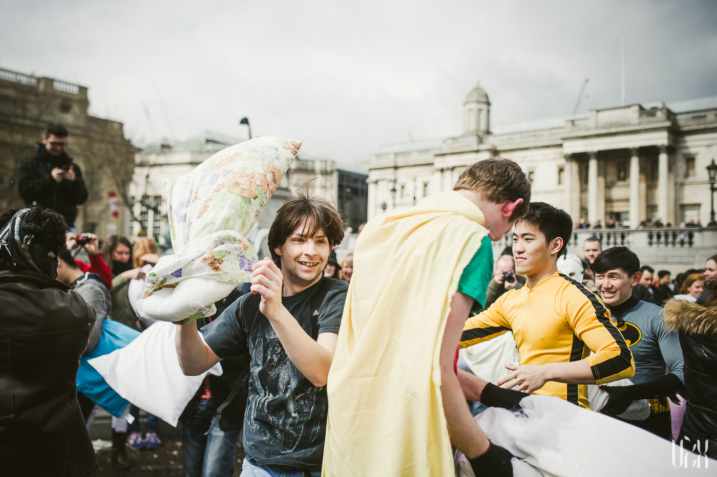 International Pillow Fight Day In London 2015 Street Photography Pagalviu Musis 17