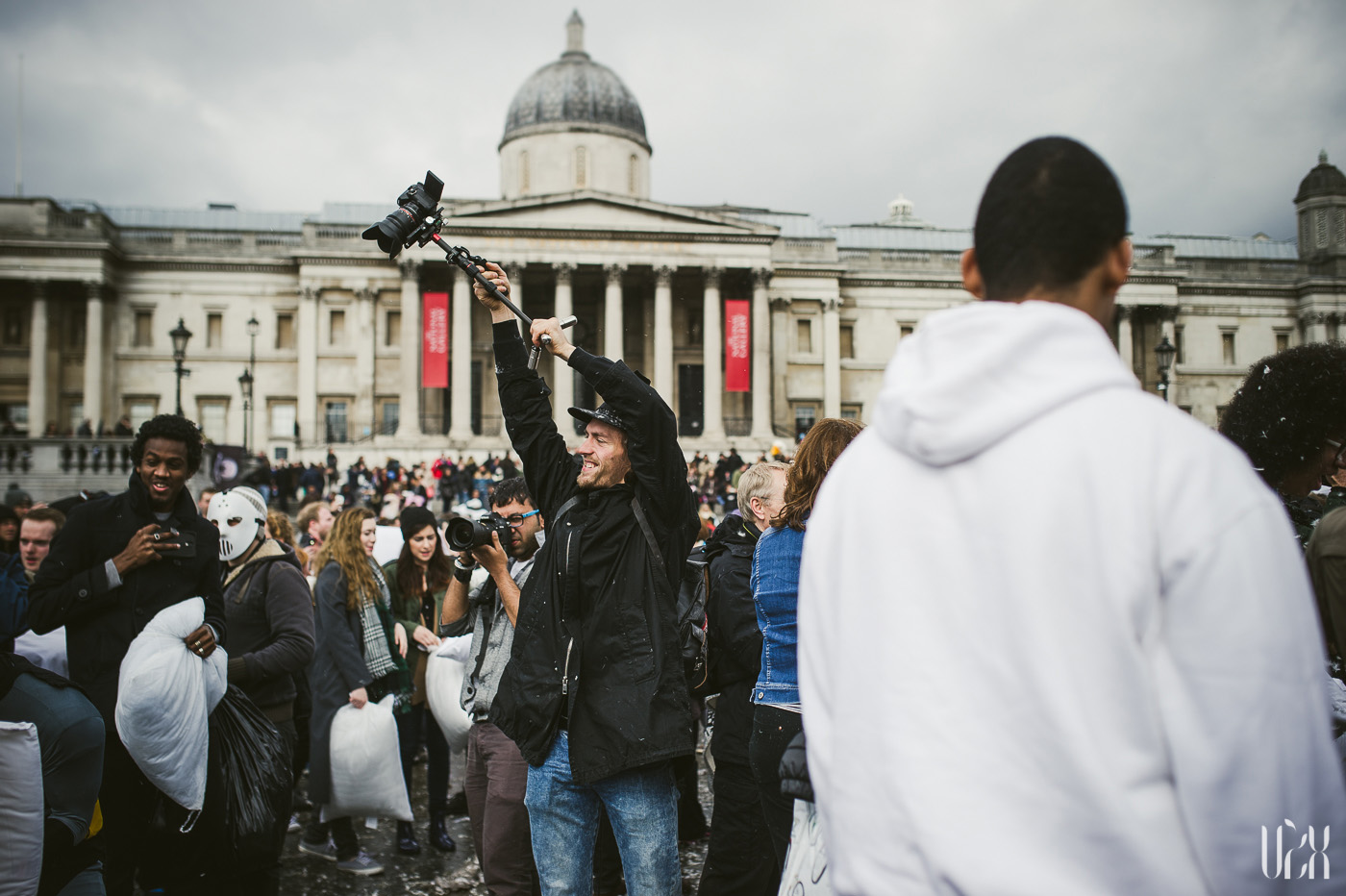 International Pillow Fight Day In London 2015 Street Photography Pagalviu Musis 18