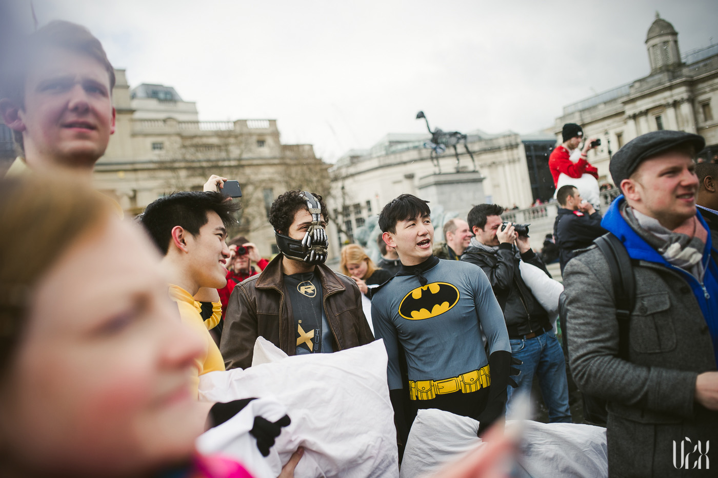 International Pillow Fight Day In London 2015 Street Photography Pagalviu Musis 20