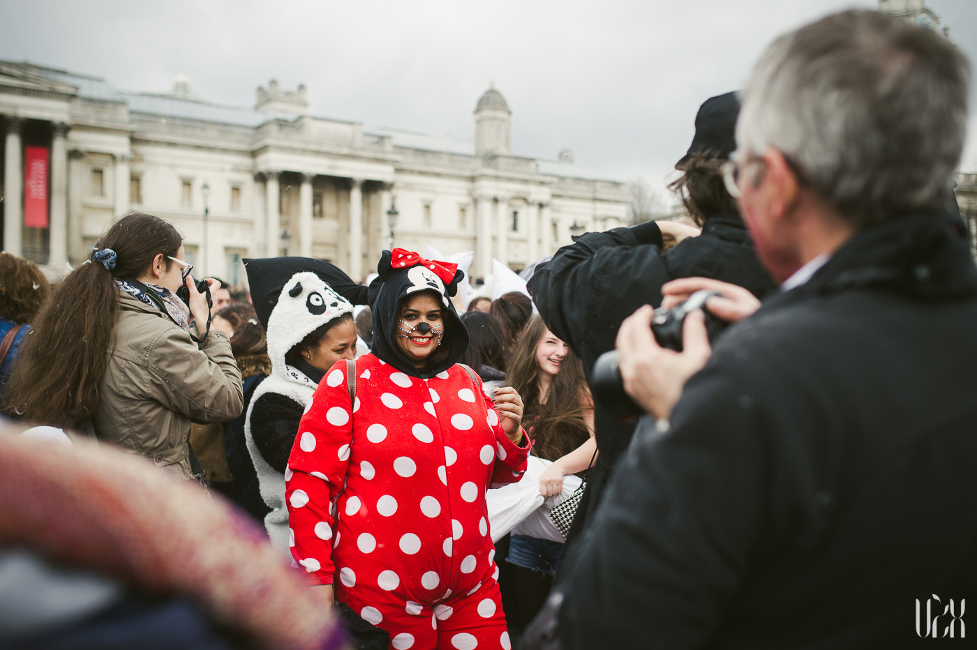 International Pillow Fight Day In London 2015 Street Photography Pagalviu Musis 21