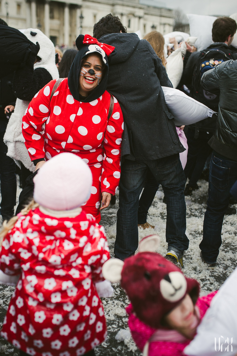 International Pillow Fight Day In London 2015 Street Photography Pagalviu Musis 22