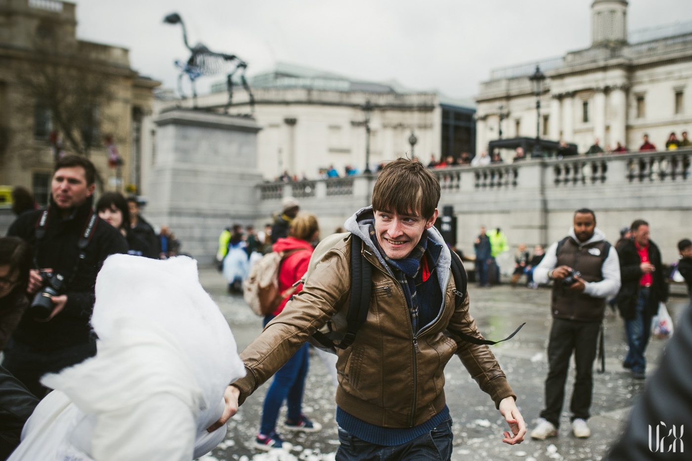 International Pillow Fight Day In London 2015 Street Photography Pagalviu Musis 32