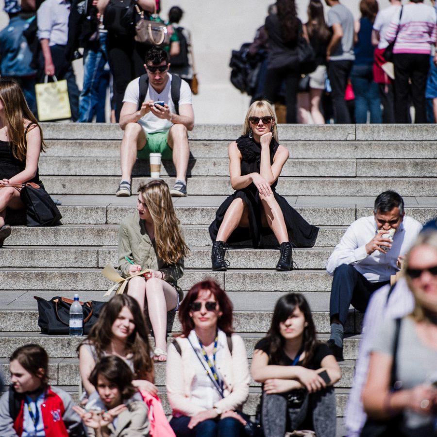 Photoshoot in London: Stillness in Time 2